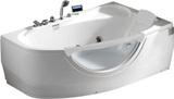 Гидромассажная ванна Gemy G9046 K R 161х96