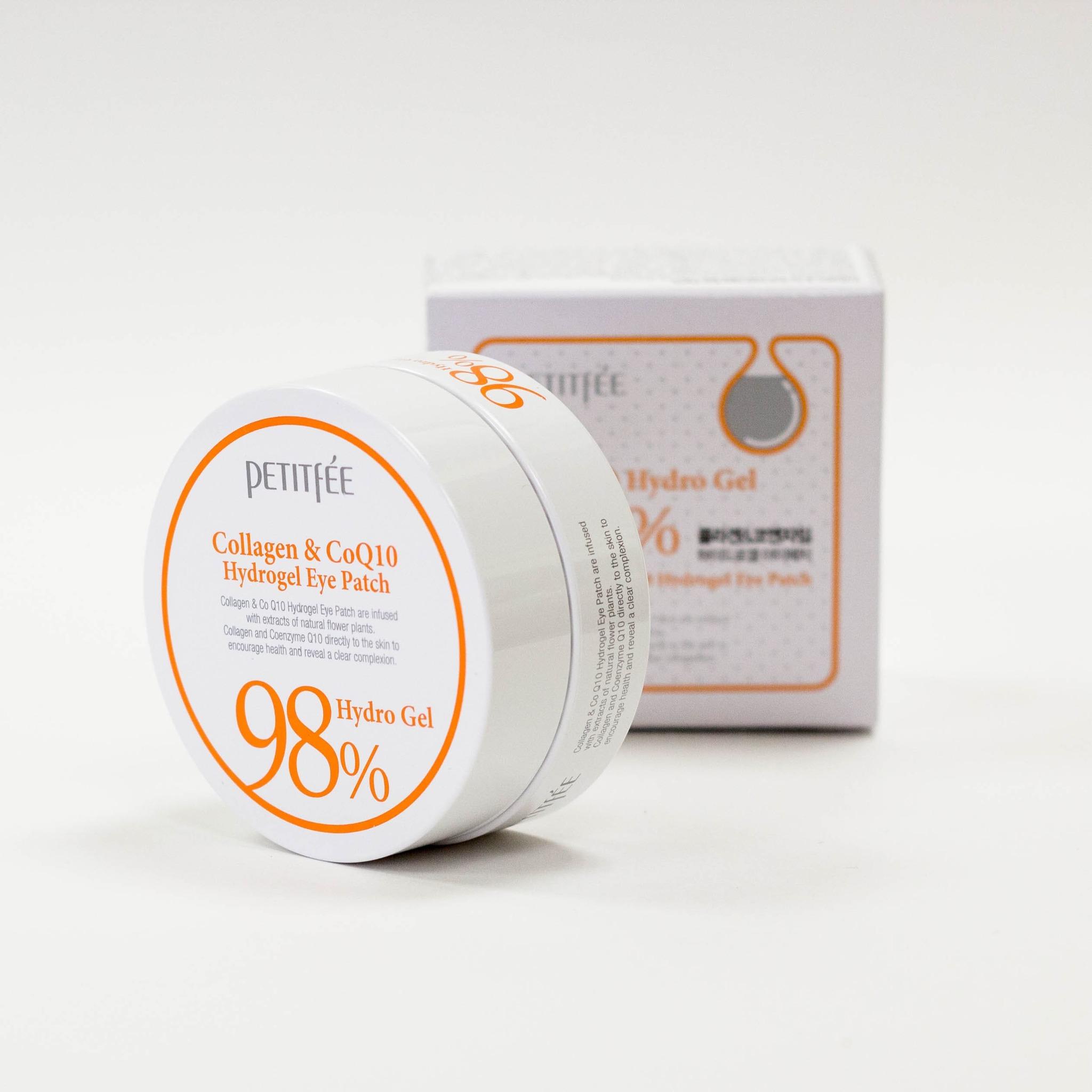 Гидрогелевые патчи с коллагеном - Petitfee Collagen & Q10 Hydrogel Eye Patch