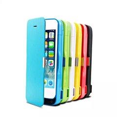 Чехол-аккумулятор 4200mAh для IPhone 5/5S/5C с защитной крышкой экрана.
