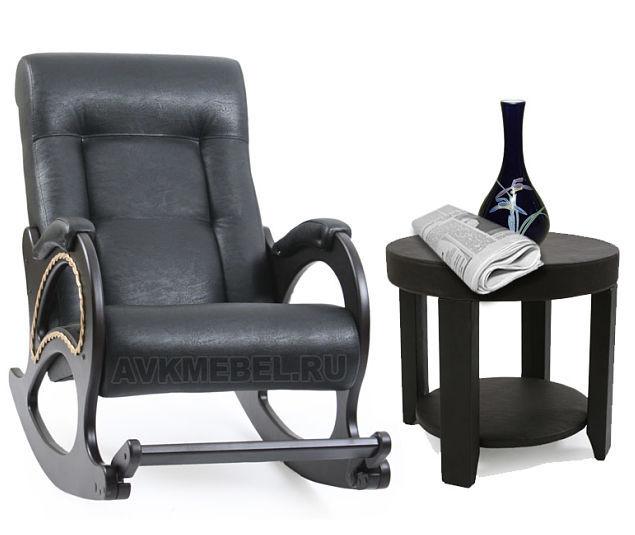 Все кресла качалки Кресло-качалка Модель 44 Экокожа с журнальным столиком м44-столик_opt.jpg