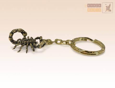 брелок зодиак Скорпион большой (24 октября - 22 ноября)