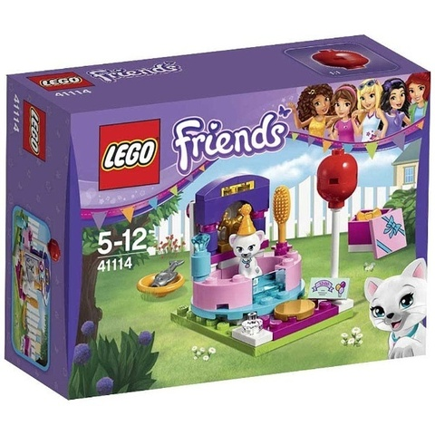 LEGO Friends: День рождения: Салон красоты 41114 — Party Styling — Лего Френдз Друзья Подружки