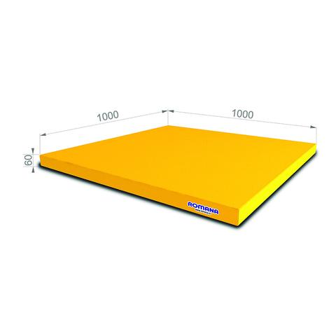 Romana Мягкий щит (Мат) 1000*1000*60, одинарный