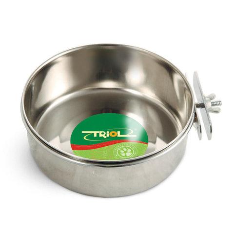 Triol миска металлическая с держателем 0,80л