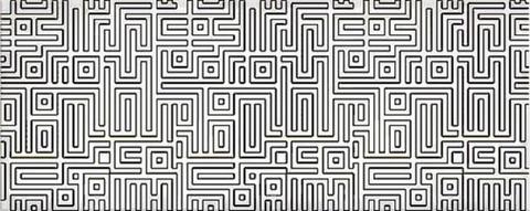 Декор AZORI Nuvola Light Labirint 505x201