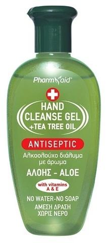Антисептический гель для рук Алоэ Pharmaid 100 мл