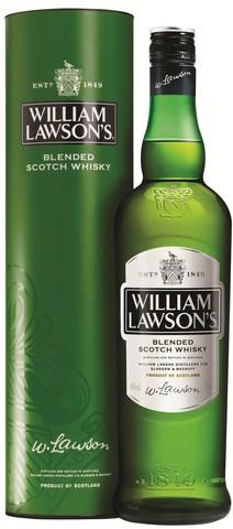 Виски William Lawson's, in tube, 0.7 л