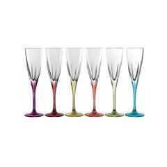 Набор фужеров для шампанского RCR Fusion цветные 170мл (6 шт), фото 3