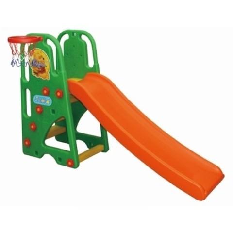 """Горка с баскетбольным кольцом """"Винни Пух"""" JM-835P (стандарт)"""