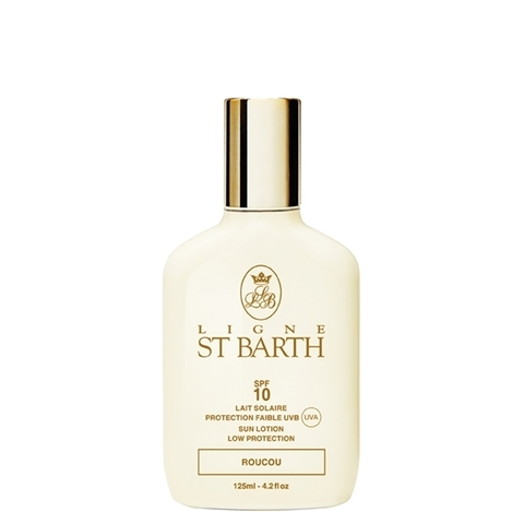 Солнцезащитный лосьон c маслом помадного дерева SPF 10 / Ligne St. Barth Sunscreen Lotion Roucou SPF10