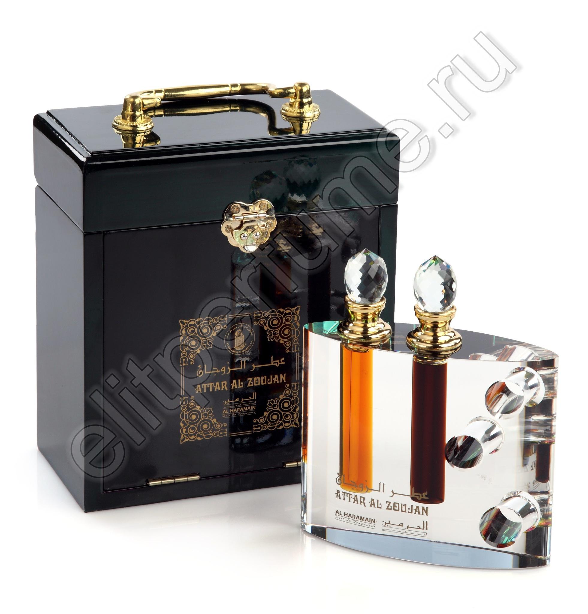 Аттар Аль Зуджан Attar Al Zoujan 24 мл арабские масляные духи от Аль Харамайн Al Haramain Perfumes