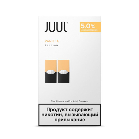 Картриджи JUUL Ваниль 5% 2 шт