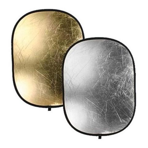 Отражатель FST RD021-100x150cm GS 2 в 1 золото/серебро