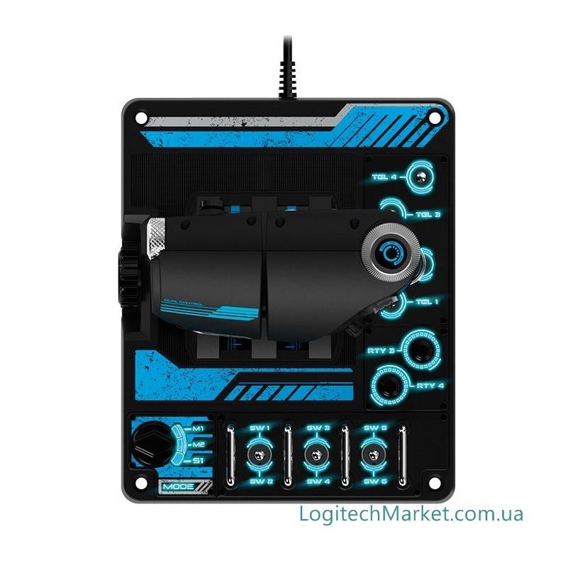 Logitech G X56 HOTAS RGB Throttle and Stick Simulation Controller