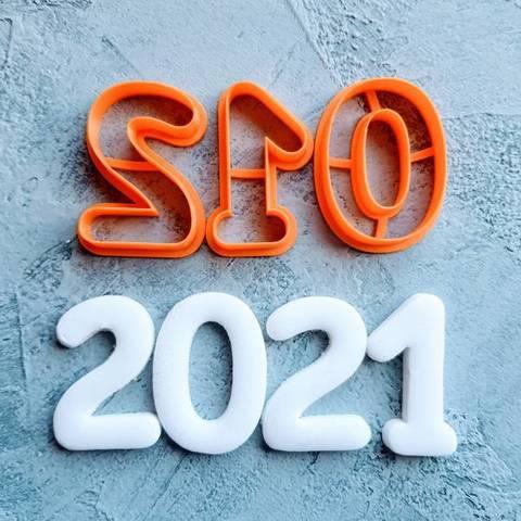 Цифры Dot 2021