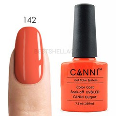 Canni, Гель-лак № 142, 7,3 мл