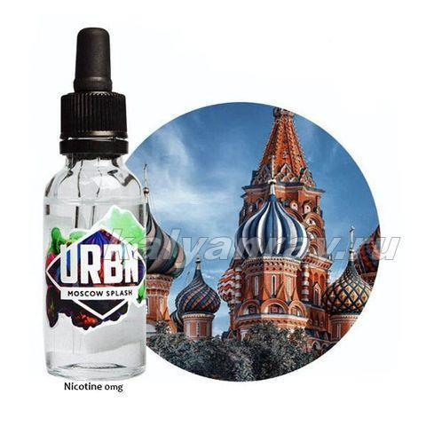 Жидкость URBN - MOSCOW SPLASH 0% никотина