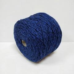Miroglio, Меринос 50%, Акрил 50%, Насыщенный темно- и черно синий с люрексом, 100 м в 100 г