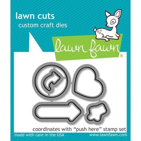 Набор ножей  - Lawn Cuts Custom Craft Die -Push Here