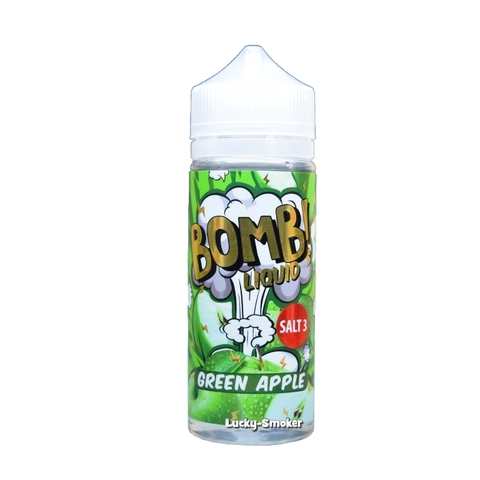 Bomb Liquid 120 мл Green Apple