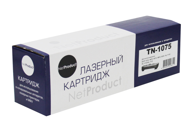 Brother NetProduct TN-1075, черный