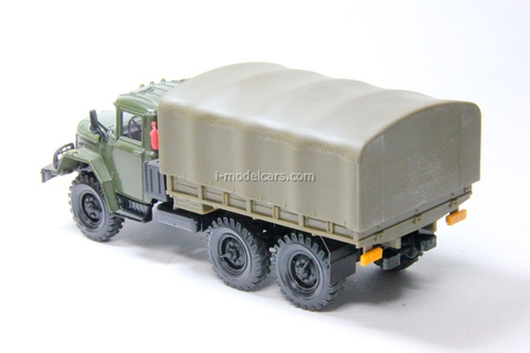 ZIL-131 with awning (early) Elecon 1:43
