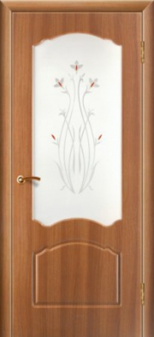 Дверь Натали (стекло тонированное) (дуб золотистый, остекленная ПВХ), фабрика Зодчий