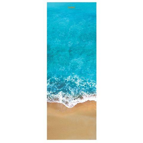 Коврик для йоги Ocean 61*0,1-0,6 см из микрофибры и каучука