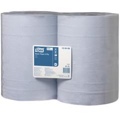 Протирочная бумага Tork 128408 W1 голубая (2 рулона по 340 метров)
