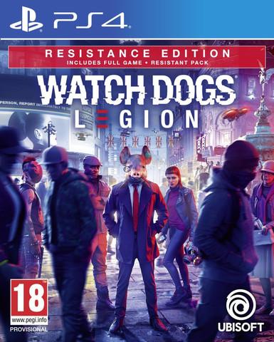PS4 Watch Dogs: Legion. Resistance Edition (русская версия)