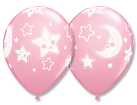 Луна и Звезды PrlPink Q shop-shariki.ru