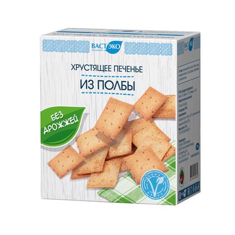 Печенье из полбы без дрожжей, 170 гр. (ВАСТЭКО)
