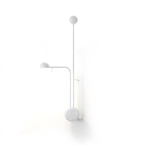 Настенный светильник копия Pin 1685 by Vibia (белый)