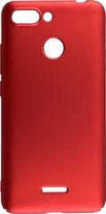 Прорезиненный чехол  для Xiaomi Redmi 6 Красный