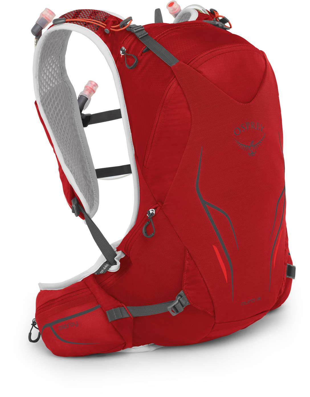 Рюкзаки для бега Рюкзак для бега Osprey Duro 15 Phoenix Red Duro_15_S19_Side_Phoenix_Red_web.jpg