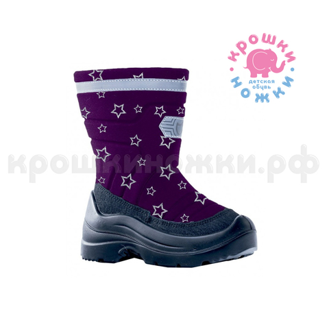 Сапоги зима, цвет фиолетовый, Котофей 564103-42