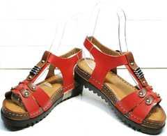 Открытые сандалии женские на толстой подошве Rifellini Rovigo 375-1161 Rad.