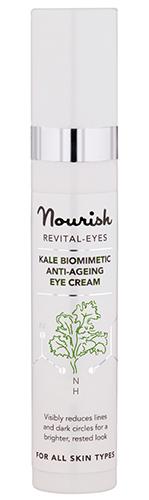 Антивозрастной крем для ухода за кожей глаз с экстрактом грюнколя, Nourish