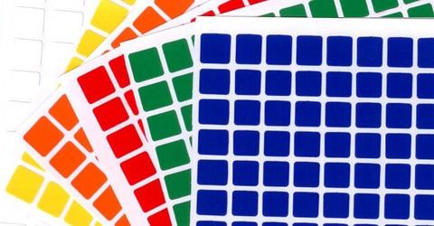 Универсальный набор наклеек 10Х10