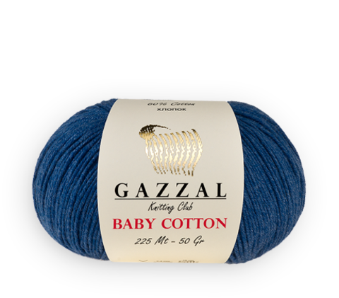 Купить Пряжа Gazzal Baby cotton | Интернет-магазин пряжи «Пряха»