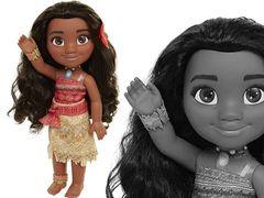 Кукла Моана Дисней с ожерельем для девочки, 35 см