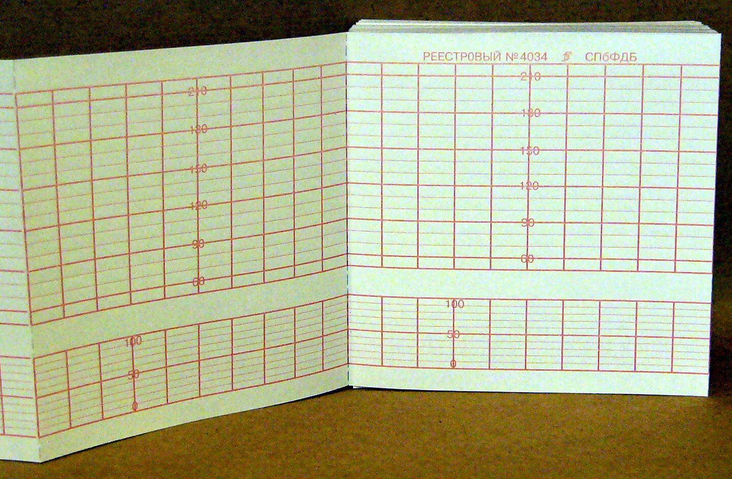 100х100х150, бумага КТГ для FM Wakeling AFM 210, реестр 4034