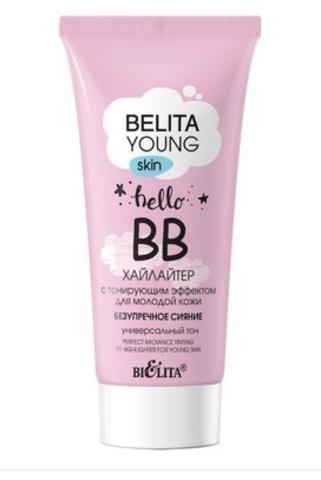Belita Young Skin ВВ-хайлайтер с тонирующим эффектом для молодой кожи 30мл