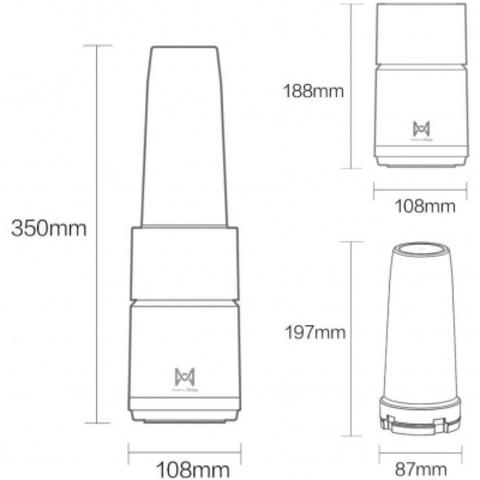 Купить Xiaomi Pinlo Little Monster Cooking Machine White