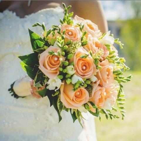 Свадебный букет #430