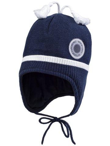 Kerry (Керри) Fenk шапка демисезонная на завязках для мальчика