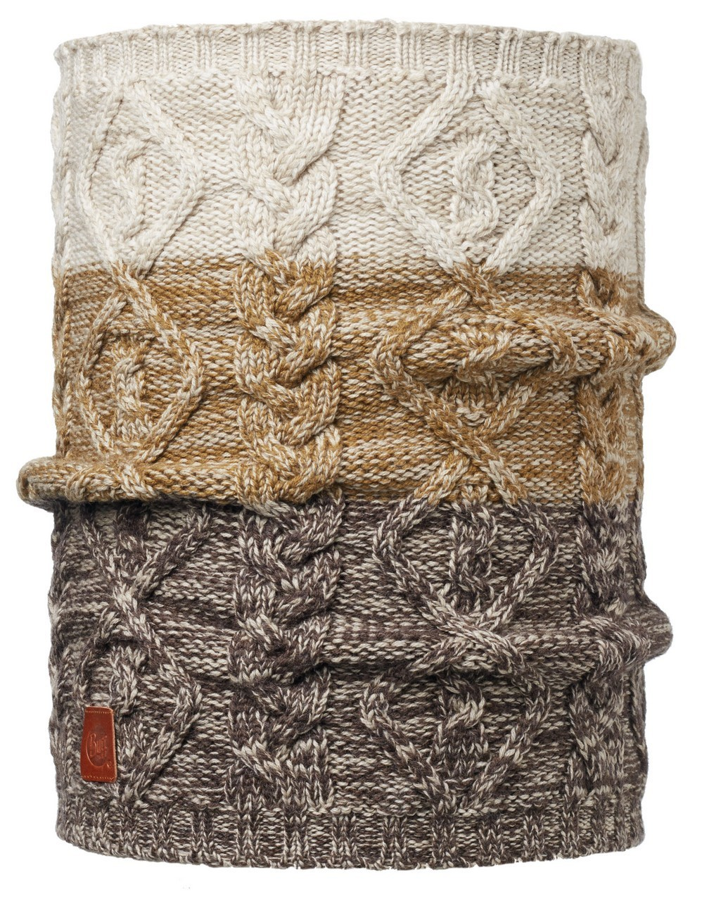 Вязаные шарфы Вязаный шарф-труба Buff Nuba Nut 1855.305.10.jpg