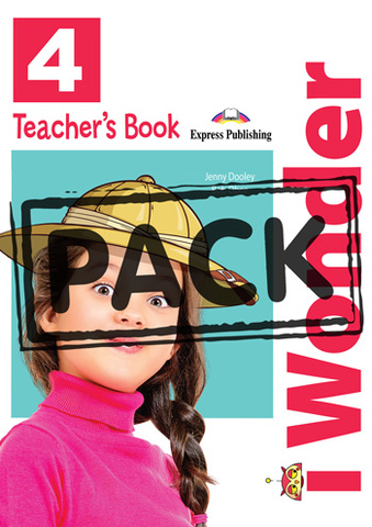 i Wonder 4 - Teacher's Book (interleaved with Posters) - книга для учителя с постерами