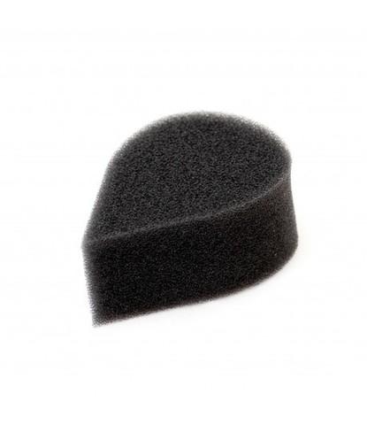 Спонж черный лепесток плотный большой