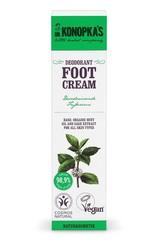 Крем для ног дезодорирующий, 75 мл (Dr.Konopka's)